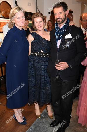 Ruth Kennedy, Serena Armstrong-Jones and Conte Manfredi Della Gherardesca