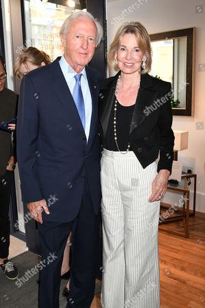 Stock Image of Galen Weston and Hilary Weston