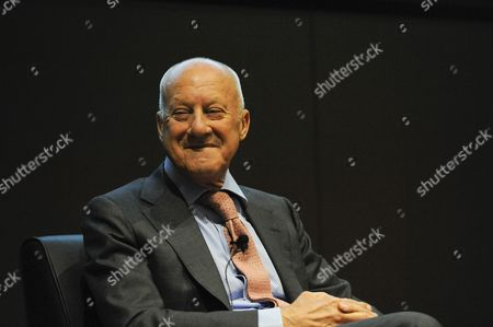 London, UK. Press preview of 'Cartier in Motion', an exhibition on Cartier, co-curated by celebrated architect Norman Foster (pictured) and Design Museum director Deyan Sudjic, at the Design Museum in London