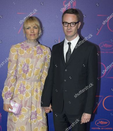 Nicolas Winding Refn and Liv Corfixen
