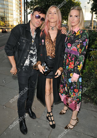 Robbie Furze, Mary Charteris and Alice Naylor-Leyland