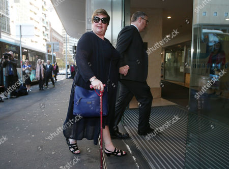 Lindt Cafe siege hostage Louisa Hope arrives to the Lindt Cafe siege inquest findings in Sydney, New South Wales (NSW), Australia, 24 May 2017. NSW Coroner Michael Barnes found that gunman Man Haron Monis, who held 18 people hostage inside a Lindt cafe in Sydney in December 2014, was the solely responsible for the deaths and injuries during the Lindt Cafe siege, adding that authorities made major errors in the operation before a hostage was killed.