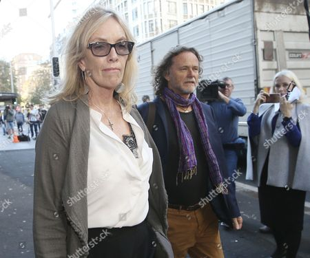 Rosie Connellan and Ken Johnson, the parents of Lindt Cafe siege victim Tori Johnson, arrive to the Lindt Cafe siege inquest findings in Sydney, New South Wales (NSW), Australia, 24 May 2017. NSW Coroner Michael Barnes found that gunman Man Haron Monis, who held 18 people hostage inside a Lindt cafe in Sydney in December 2014, was the solely responsible for the deaths and injuries during the Lindt Cafe siege, adding that authorities made major errors in the operation before a hostage was killed.