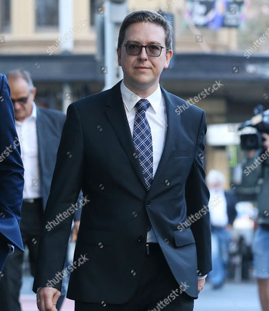 Thomas Zinn, the partner of Lindt Cafe siege victim Tori Johnson, arrives to the Lindt Cafe siege inquest findings in Sydney, New South Wales (NSW), Australia, 24 May 2017. NSW Coroner Michael Barnes found that gunman Man Haron Monis, who held 18 people hostage inside a Lindt cafe in Sydney in December 2014, was the solely responsible for the deaths and injuries during the Lindt Cafe siege, adding that authorities made major errors in the operation before a hostage was killed.