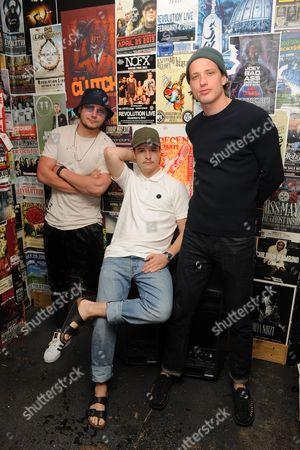 Stock Picture of Mark Falgren, Lukas Forchhammer, Magnus Larsson
