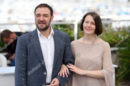 Stock Photo of Artem Tsypin and Olga Dragunova