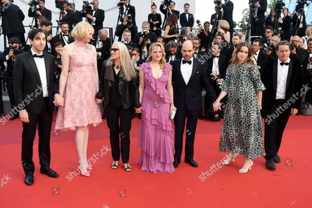 Ariel Kleiman, Gwendoline Christie, Jane Campion, Elisabeth Moss, David Dencik and Alice Englert
