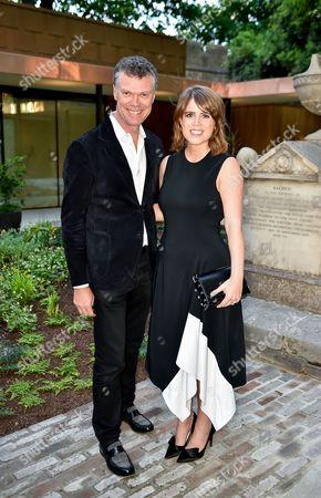Pierre Denis and Princess Eugenie of York