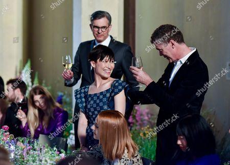 Michael Kliger, Sandra Choi and Pierre Denis