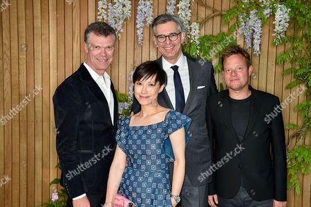 Pierre Denis, Sandra Choi, Michael Kliger and Jens Riewenherm