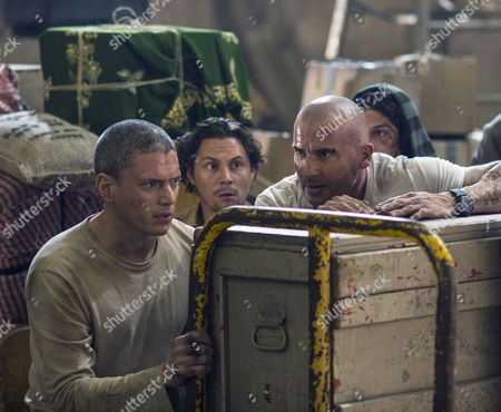 Wentworth Miller, Augustus Prew, Dominic Purcell