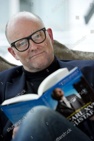 A Picture Made Available on 04 November 2010 Shows Thomas Sjoeberg Co-author of the Controversial Book 'Carl Xvi Gustaf - the Unwilling Monarch' As He Poses For a Picture in Stockholm Sweden 03 November 2010 the Book Which is Released in Sweden on 04 November 2010 Details the Private Life of Sweden's King Carl Xvi Gustaf who Has Announced He Will Comment on the Book During a Thursday Press Conference Sweden Stockholm