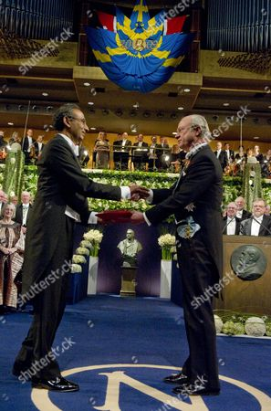 Editorial image of Sweden Nobel Prize 2009 - Dec 2009