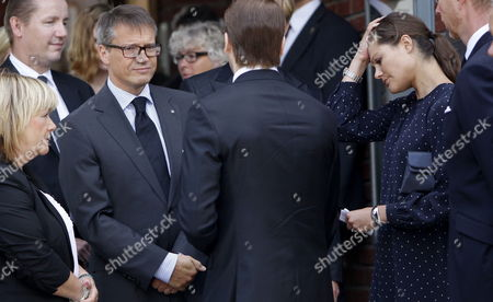 From L-r Swedish Minister of Justice Beatrice Ask Minister For Social Affairs Goeran Hagglund Crown Princess Victoria and Prince Daniel Leave a Memorial Service For the Victims of the Oslo Terror Attacks at the Norwegian Church in Stockholm on 24 July 2011 the Death Toll in the Twin Attacks in Norway Rose to 93 After One of the Victims Died at an Oslo Hospital Broadcaster Nrk Said a 32-year-old Man Has Been Charged with the 22 July Shooting Spree That Has Now Claimed at Least 86 Lives the Accused - Named by Norwegian Media As Anders Behring Breivik - Has Also Been Charged with a Bombing Hours Earlier in Central Oslo That Killed Seven People Oslo Police Chief Sveinung Sponheim Told Reporters That About 100 People Had Been Treated For Injuries Resulting From the Two Attacks Sweden Stockholm
