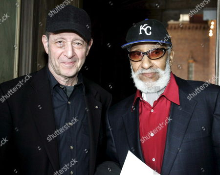 U S Composers and Musicians Steve Reich(l) and Sonny Rollins Pose Together During a Press Conference in Stockholm Sweden 21 May 2007 They Would Receive the 2007 Polar Music Prize From Swedish King Carl Xvi Gustaf with Each Prize Award Amounting to 1 Million Kronor (110 000 Euros 143 000 U S Dollars) Sweden Stockholm