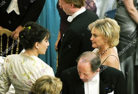 Ceo of Swedish State Broadcaster Svt Eva Hamilton (r) Attends the Wedding Dinner Celebrating the Marriage of Sweden's Crown Princess Victoria and Prince Daniel Westling the Duke of Vastergotland at the Royal Palace in Central Stockholm Sweden 19 June 2010 the News Organizations Associated Press Reuters and Agence France-presse Decided on 19 June 2010 not to Provide Coverage of Saturday's Wedding Because of a Dispute Over the Release of Television Images of the Event Epa02211910 Sweden's King Carl Gustaf (2-l) Delivers a Speech As the Bridal Couple Crown Princess Victoria (2-r) and Prince Daniel Westling (l) the Duke of Vastergotland and Eva Westling (l) Groom's Mother Listen During the Wedding Dinner at the Royal Palace in Stockholm Sweden 19 June 2010 the Wedding Date Has Been Set For the Same Day As the Wedding of King Carl Xvi Gustaf and Silvia Sommerlath Which Took Place on 19 June 1976 Princess Victoria and Daniel Westling Have Been a Couple Since 2002 Epa/fredrik Sandberg ***sweden Out*** Sweden Stockholm