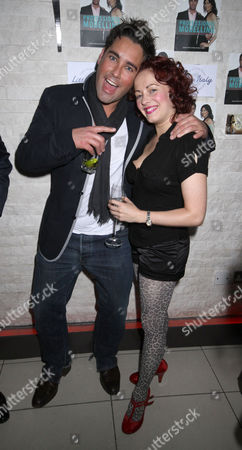Giles Vickers-Jones and Sarah Cawood