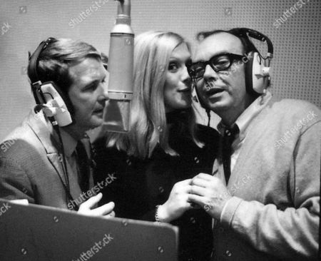 """Recording """"Following You Around""""in Wessex Studios with Eric Morecambe and Ernie Wise - 1970"""