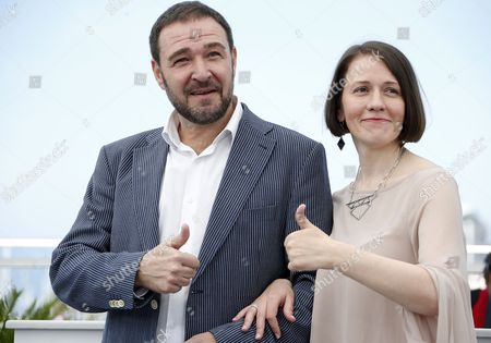 Actors Actor Artem Tsypin (L) and Olga Dragunova poses during the photocall for 'Tesnota' (Closeness) at the 70th annual Cannes Film Festival, in Cannes, France, 24 May 2017. The movie is presented in the section Un Certain Regard of the festival which runs from 17 to 28 May.