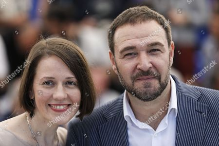 Actors Actor Artem Tsypin (R) and Olga Dragunova poses during the photocall for 'Tesnota' (Closeness) at the 70th annual Cannes Film Festival, in Cannes, France, 24 May 2017. The movie is presented in the section Un Certain Regard of the festival which runs from 17 to 28 May.