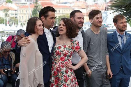 Olga Dragunova, Artem Tsypin, Darya Zhovner, director Kantemir Balagov and Nikolay Yankin