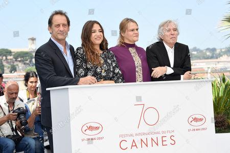 Vincent Lindon, Izia, Severine Caneele and director Jacques Doillon