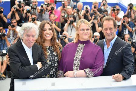 Director Jacques Doillon, actors Izia, Severine Caneele and Vincent Lindon