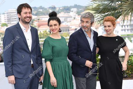The director Santiago Mitre, Erica Rivas, Ricardo Darin, Dolores Fonzi