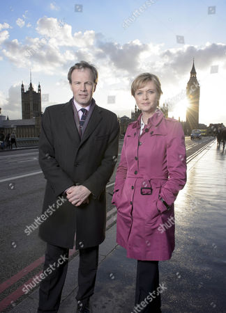 Presenters Tom Bradby and Julie Etchingham