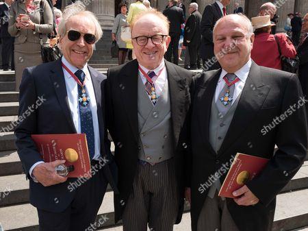 Gerald Scarfe, Peter Asher, Harvey Goldsmith