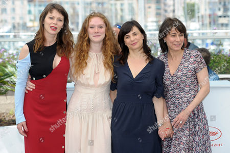 Stock Image of Barbora Bobulova, Annarita Zambrano, Charlotte Cetaire, Maryline Canto