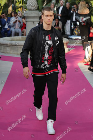 Editorial image of Philipp Plein Resort Collection, Show, 70th Cannes Film Festival, France - 24 May 2017