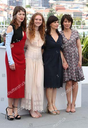 Stock Photo of Anna Zambrano, Barbora Bobulova, Charlotte Cetaire, Maryline Canto