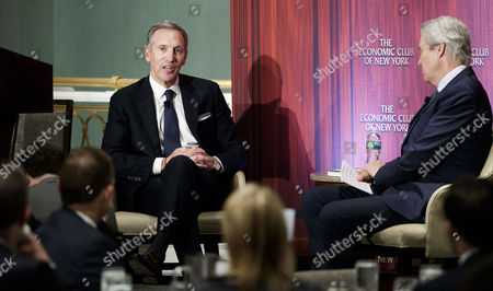 Howard Schultz and Terry J. Lundgren