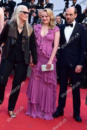 Jane Campion, Elisabeth Moss and David Dencik