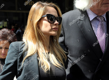 Dani Mathers, Dani Mathers Playboy model Dani Mathers leaves Los Angeles County Superior Court, after pleading no contest to charges that she secretly snapped a photo of a naked 71-year-old woman in a locker room and posted it online with a mocking comment. She was sentenced to probation and 30 days community service