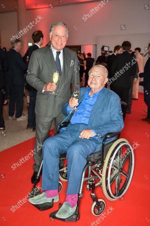 Sir John Ritblat and Sir Terence Conran
