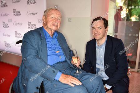 Sir Terence Conran and George Osborne