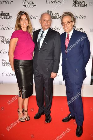 Stock Picture of Carol Weatherall, Ron Dennis and The Earl of March
