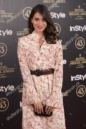 Editorial photo of Miguel Angel Garden party photocall, Madrid, Spain - 24 May 2017