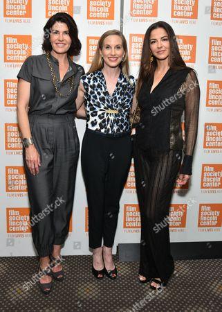 Diana DiMenna, ballerina Wendy Whelan and Dayssi Orlarte