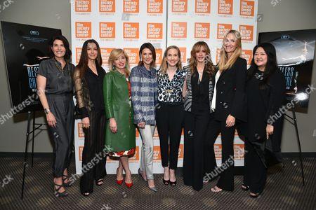 Producer Diana DiMenna, Dayssi Olarte de Kanavas, Frederica Marchionni, ballerina Wendy Whelan, Ulla Parker and Christine Mack
