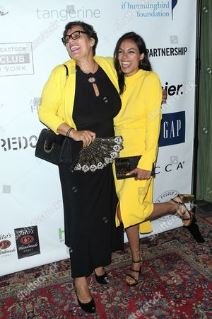 Stock Photo of Isabel Celeste and Rosario Dawson