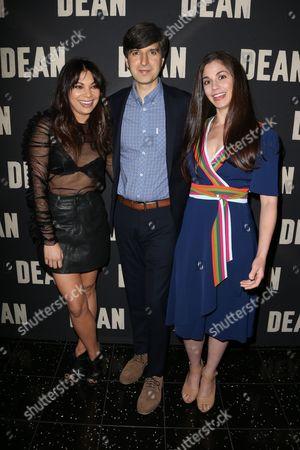 Ginger Gonzaga, Demetri Martin and Rachael Beame