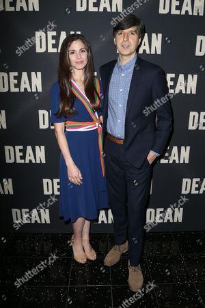 Rachael Beame and Demetri Martin