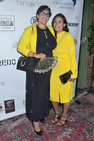 Stock Picture of Isabel Celeste, Rosario Dawson at Lower Eastside Girls Club
