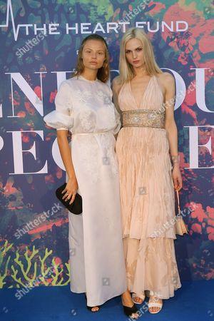 Magdalena Frackowiak and Sofija Milo