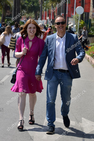 Stock Photo of Emilie Dequenne and Michel Ferracci