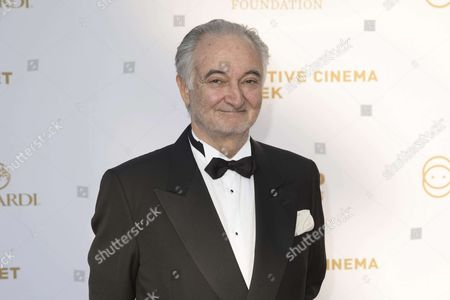 Pesident 'Positive Planet' and founder of 'Positive Cinema Week' Jacques Attali