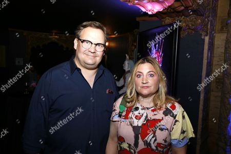 Stock Picture of Andy Richter and Sarah Thyre